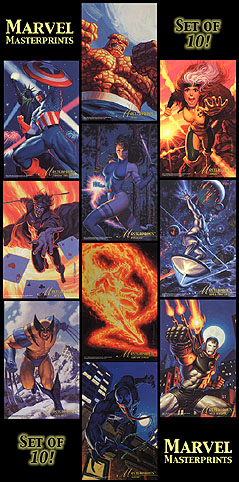 Marvel Masterprints - Full Set of 10, Brothers Hildebrandt