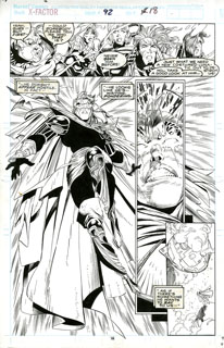 X Factor #92 p18, Joe Quesada