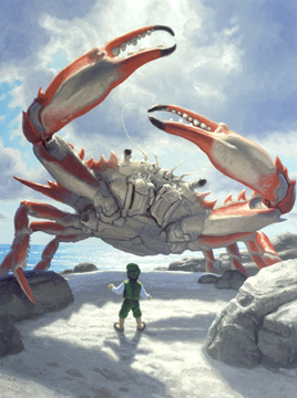 The Great Crab, Greg Hildebrandt