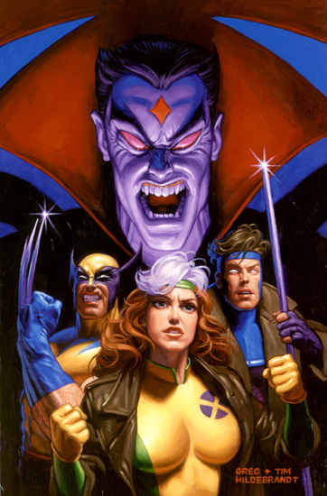 Mr. Sinister vs X-Men, Brothers Hildebrandt