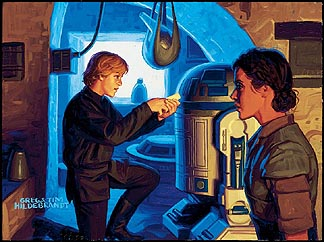 Luke Plans Han`s Rescue, Brothers Hildebrandt