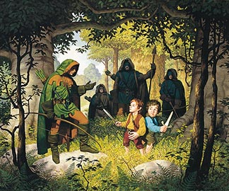 Tolkien Calendar June 1977 Faramir Tolkien