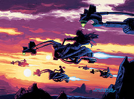 Swoop Troop Attack, Brothers Hildebrandt