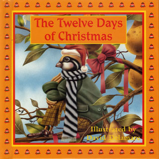 Twelve Days Of Christmas Book.The Twelve Days Of Christmas 8x8 Illustrated Books