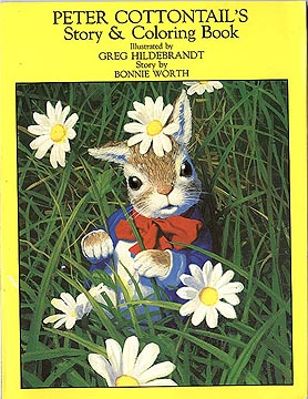 Peter Cottontail Coloring Book, Greg Hildebrandt