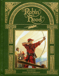 Robin Hood - Leather Hardcover, Greg Hildebrandt
