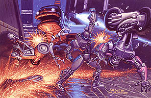 Cyclebot Gang Fight, Brothers Hildebrandt