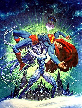 Superman - Last God of Krypton - Cover, Brothers Hildebrandt