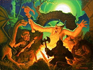 Monster Meeting, Greg Hildebrandt