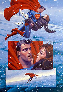 Superman p13, Brothers Hildebrandt