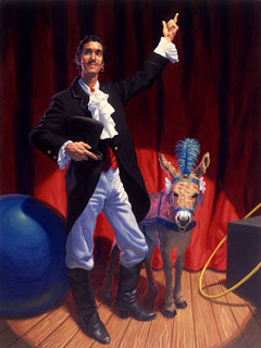 Donkey on Display, Greg Hildebrandt