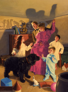The Darlings Dance In the Nursery, Greg Hildebrandt