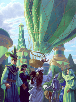 Balloon is Launched, Greg Hildebrandt