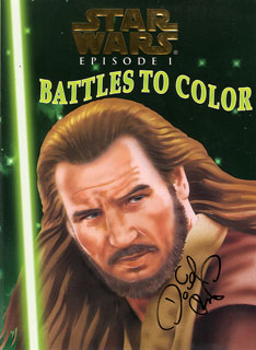 Star Wars Episode I Battles to Color, David Boller
