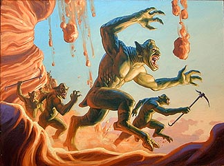 Downhill Charge, Brothers Hildebrandt