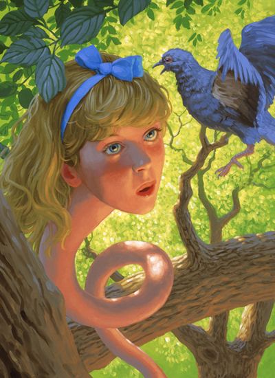 Alice & the Pigeon, Greg Hildebrandt