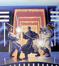 Episode I Flap Book Alternate cover, Brothers Hildebrandt