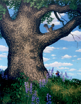 Peter and Squire Squirrel, Greg Hildebrandt