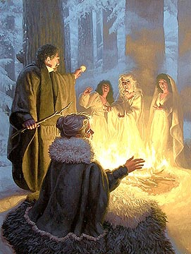 The Circle of the Host, Greg Hildebrandt