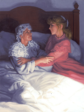 Comforting a Friend, Greg Hildebrandt