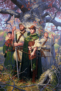 The Men of Sherwood, Greg Hildebrandt