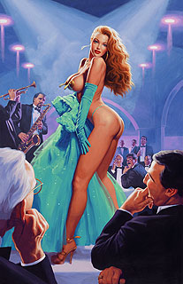 Emerald Evening - 17x25 Giclee, Greg Hildebrandt