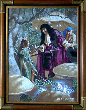The Elegant Captain Hook, Greg Hildebrandt