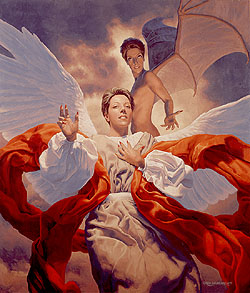 Angel and Devil, Greg Hildebrandt