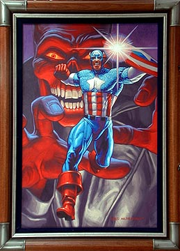 Captain America vs Red Skull, Greg Hildebrandt