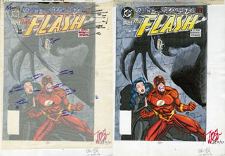 The Flash #103 Color Comp., Tom McGraw