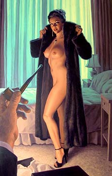 Rendezvous at the Empire - 17x25 Giclee, Greg Hildebrandt