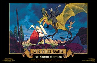 Final Battle Print, Brothers Hildebrandt