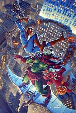 Ultimate Hobgoblin Vs Green Goblin Spiderman vs. the Gree...