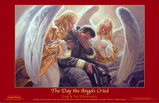 The Day the Angels Cried - Print  - 34 X 24, Brothers Hildebrandt