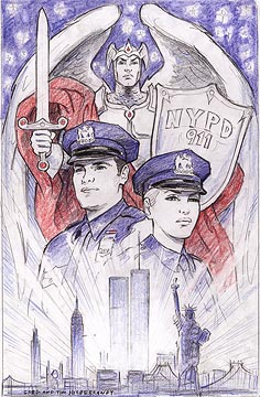 New Yorks Finest - To benefit the NYPD widows and childrens fund, Brothers Hildebrandt