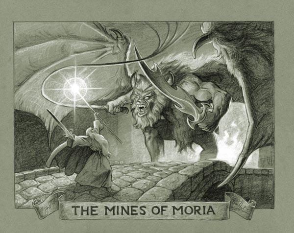 Tolkien Drawings Lord Of The Rings