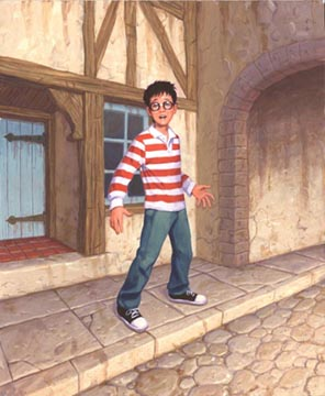 The Famous Harry Potter, Greg Hildebrandt