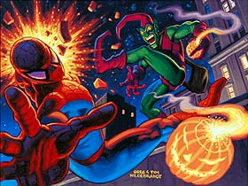Spider-man vs. The Green Goblin, Brothers Hildebrandt