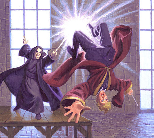 Expelliarmus, Greg Hildebrandt