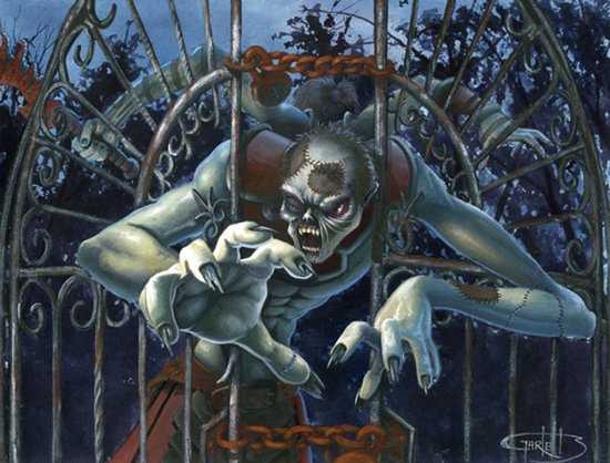 Zombie at the Gate, Keith Garletts