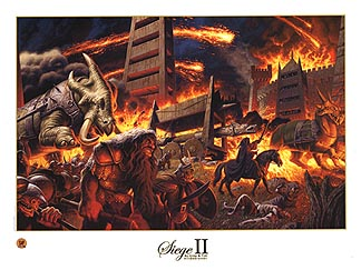 Siege of Minas Tirith 2 - SIGNED BY GREG AND TIM, Brothers Hildebrandt