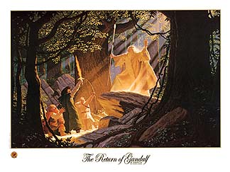 The Return of Gandalf - SIGNED BY GREG AND TIM, Brothers Hildebrandt