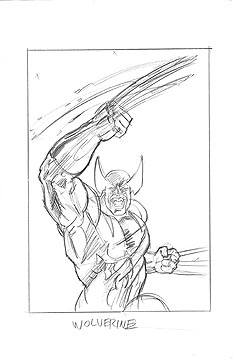 Wolverine Rough Sketch, Brothers Hildebrandt