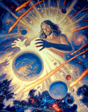 The Creation Of The Earth Religious Spiderwebart Gallery