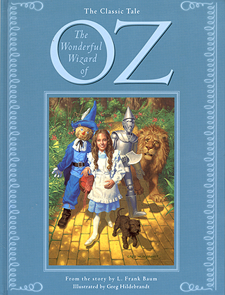 The Wonderful Wizard of Oz ,signed, Greg Hildebrandt