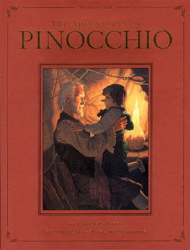 Adventures of Pinocchio - Signed, Greg Hildebrandt