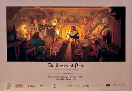 The Unexpected Party Print, Brothers Hildebrandt