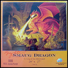 Smaug - Puzzle, Brothers Hildebrandt