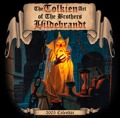 Greg and Tim Hildebrandt Their Tolkien Years - 2005 Calendar Signed, Brothers Hildebrandt