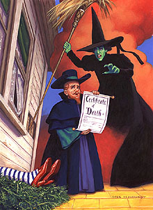 Certificate Of Death, Greg Hildebrandt